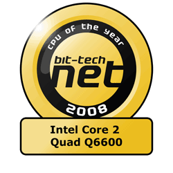 The bit-tech Hardware Awards 2008 Best CPU