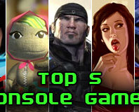 Top Five Console Games of the Year 2008