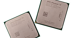AMD Phenom II X4 and X3 socket AM3 processors