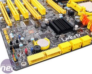 DFI LANParty DK 790FX-B M2RSH Board Layout Continued