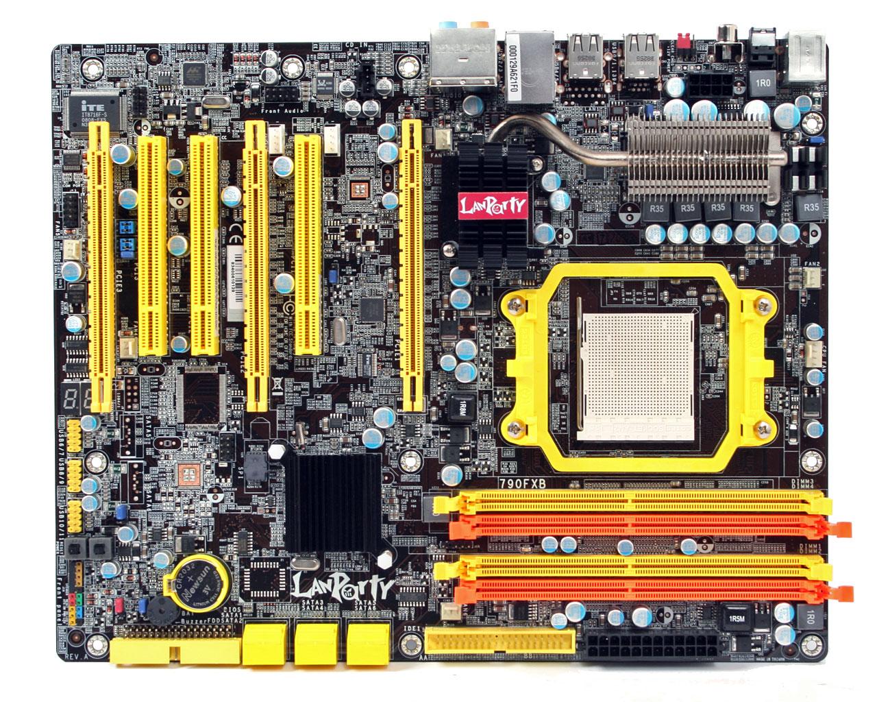 Dfi Lanparty Dk 790fx B M2rsh Bit Tech Net