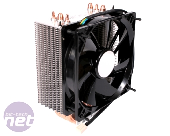 LGA 1366 CPU Cooler Group Test Akasa Nero