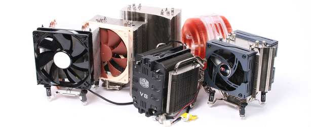 LGA 1366 CPU Cooler Group Test