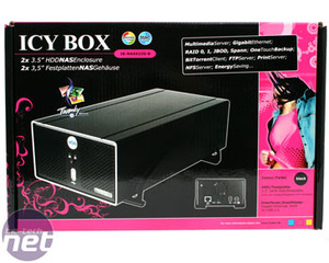 Icy Box IB-NAS4220-B Network Storage Icy Box IB-NAS4220-B