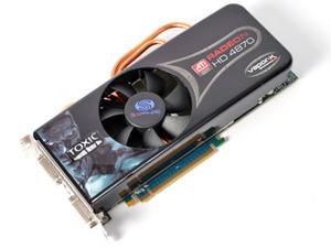 Sapphire ATI Radeon HD 4870 1GB Toxic Test Setup