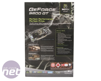 XFX GeForce 9800 GT 512MB XXX Edition