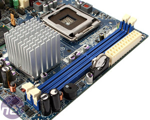 Intel DG45FC mini-ITX motherboard Features and Layout