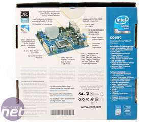 Intel DG45FC mini-ITX motherboard