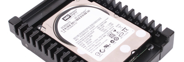 Western Digital VelociRaptor 300GB Test Setup