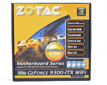 Zotac GeForce 9300-ITX WiFi Motherboard Zotac GeForce 9300-ITX WiFi Mini ITX Motherboard