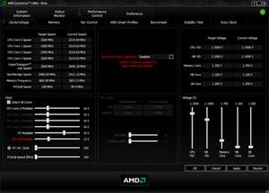 AMD Phenom II X4 955 Black Edition CPU AMD OverDrive 3.0 and Black Edn Memory Profiles