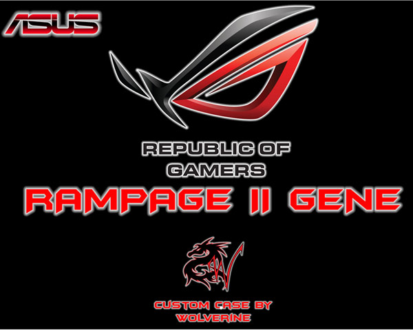The Rampage by Magnus Persson Introduction and Case Modding