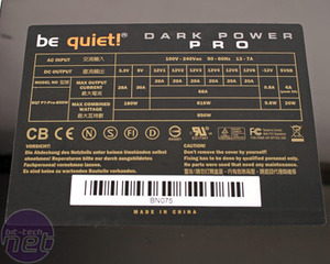 Be Quiet! Dark Power Pro 850W Shhhh!!