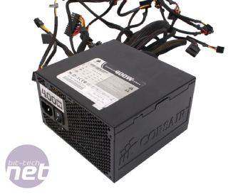 Corsair CX400W PSU Aesthetics and Specification and Build,