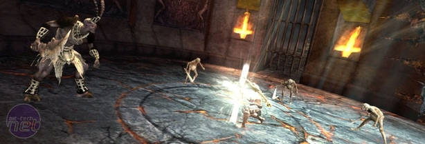 Dante's Inferno Hands-on Preview Dante's Inferno Hands-on Preview - Gameplay