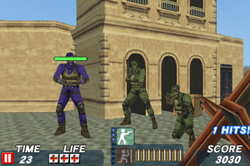 iPhone and iPod Touch Games Round-up Metal Gear Solid Touch, Time Crisis Strike