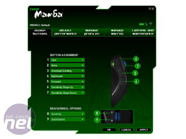 Razer Mamba Review Specification and Software