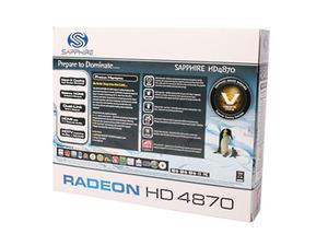 Sapphire Radeon HD 4870 2GB Vapor-X