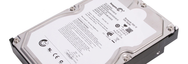 Seagate 1TB 7200.12 Hard Disk Test Setup