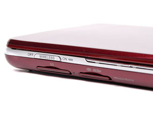 Sony Vaio P-series netbook (VGN-P11Z/R) Features & Build Quality