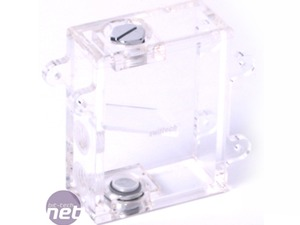 Swiftech H2O-220 Apex Ultima CPU waterblock, pump and reservoir