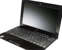 Asus Eee PC 1008HA 'Seashell' netbook
