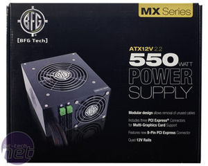BFG MX Series 550W PSU