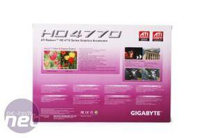 Gigabyte ATI Radeon HD 4770 512MB  Gigabyte ATI Radeon HD 4770 512MB