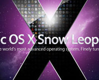 First Look: Mac OS X v10.6 Snow Leopard