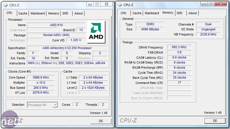 AMD Athlon II X2 250 CPU Review Overclocking and Test Setup