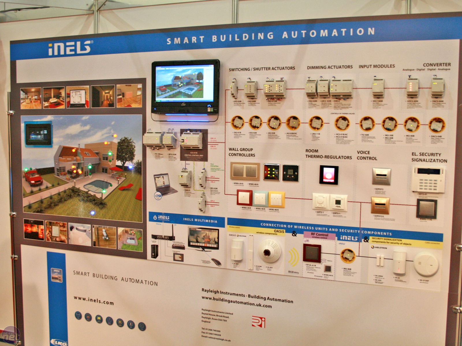 Cedia 2009 home automation and more bit for Home automation system