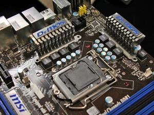 Computex 2009: Hardware Preview MSI P55 GD65 looks tasty