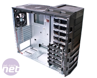 Cooler Master HAF 922 Review Cooler Master HAF 922 - More Interior