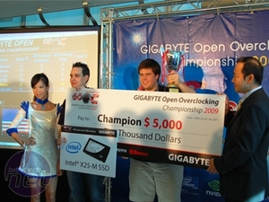Gigabyte's Open Overclocking Finals 2009 Let The Games Begin (and End)