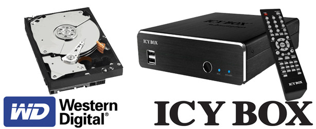 Win an Icy Box Multimedia Player Win an Icy Box IB-MP309HW-B Multimedia Player!