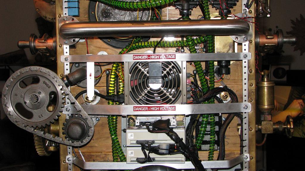 Steampunk Frankenstein By Dana Mattocks Bit Tech Net