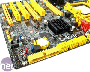 DFI LANParty DK 790FXB-M3H5 Review Board Features and Layout