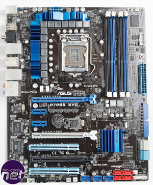 First look: Asus P7P55D Evo motherboard Up close and personal