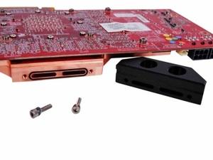 MSI GTX 285 HydroGen OC Review The Heatkiller GPU-X² water block