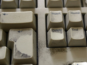 The best way to clean your keyboard Household cleaning products and Cyber Clean
