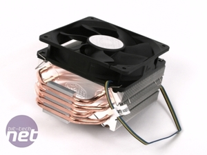 Five LGA1156 coolers tested on Lynnfield Cooler Master Hyper 212 Plus