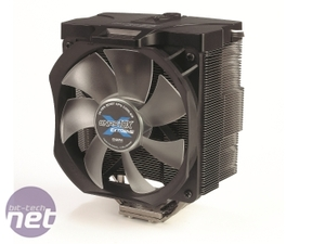 *Five LGA1156 coolers tested on Lynnfield Zalman CNPS 10X Extreme
