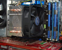 Five LGA1156 coolers tested on Lynnfield