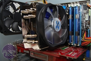 *Five LGA1156 coolers tested on Lynnfield Zalman CNPS 10X Quiet
