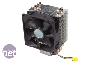 *Five LGA1156 coolers tested on Lynnfield Cooler Master Hyper TX3