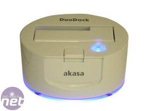 *Three SSD caddies reviewed Akasa DuoDock