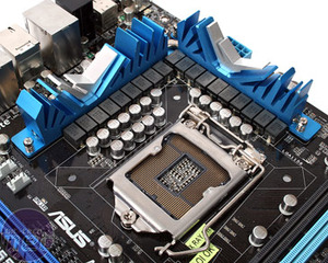 *Asus P7P55D Deluxe Review Board Layout and Detail
