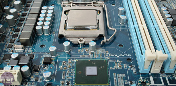 Intel Lynnfield: Details and Architecture Intel P55 Express chipset