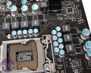 *MSI P55 GD65 Review Board Detail and Layout