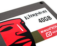 Kingston SSDNow V Series 40GB: Intel X25-X